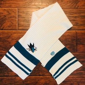 San Jose Sharks 🦈 Old Time Hockey Scarf OS